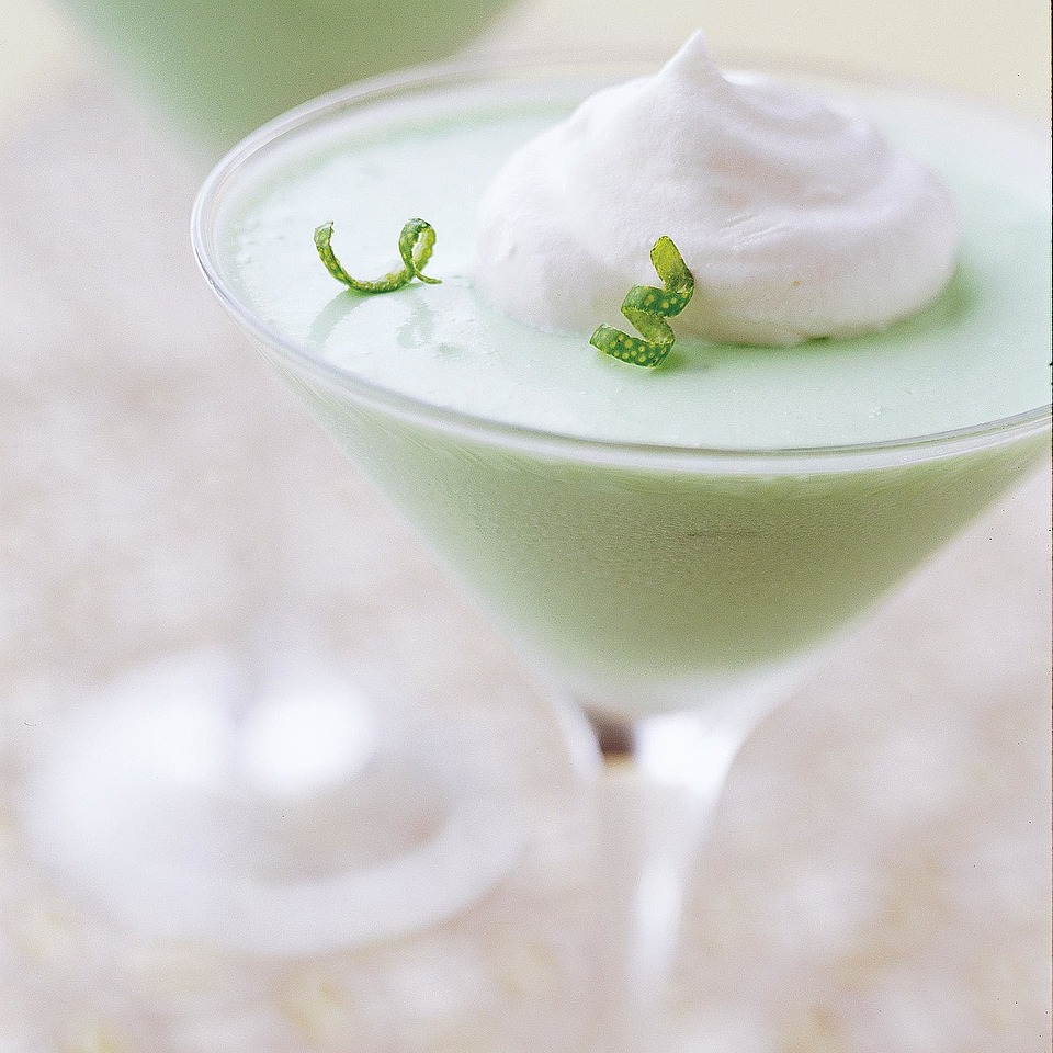 Creamy Lime Mousse