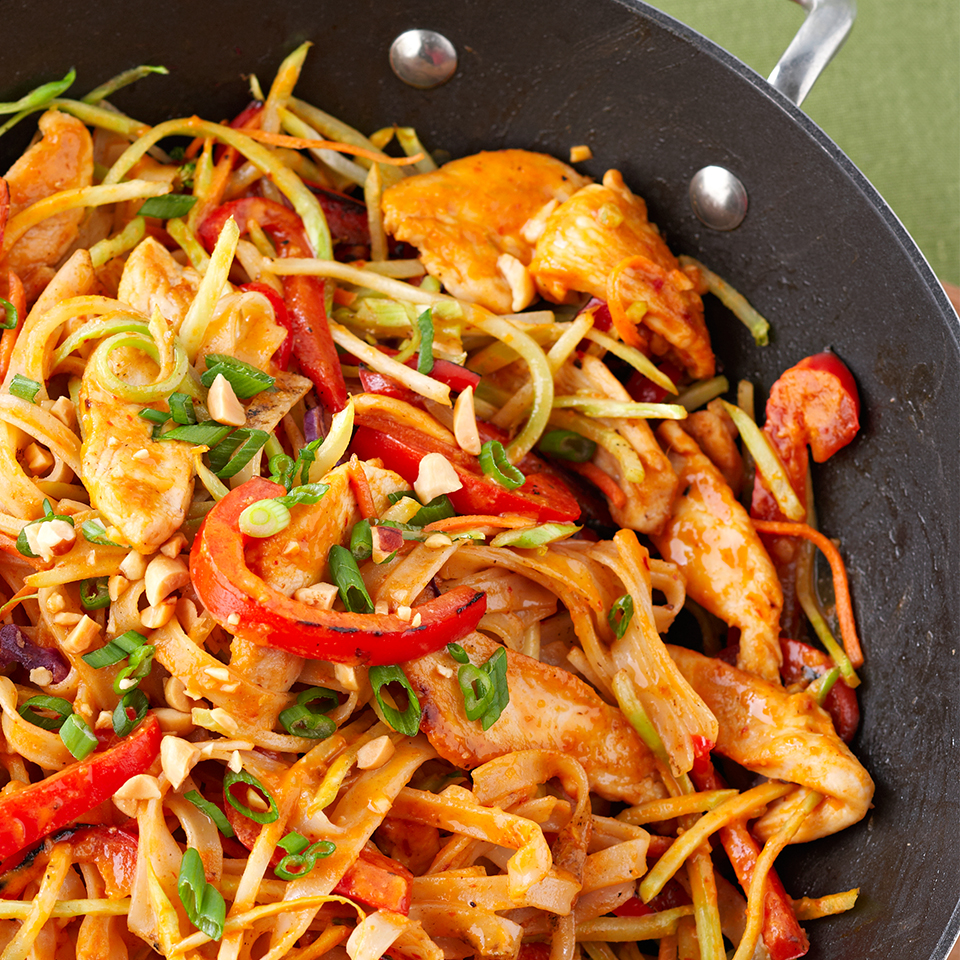 Chicken-Peanut Stir-Fry