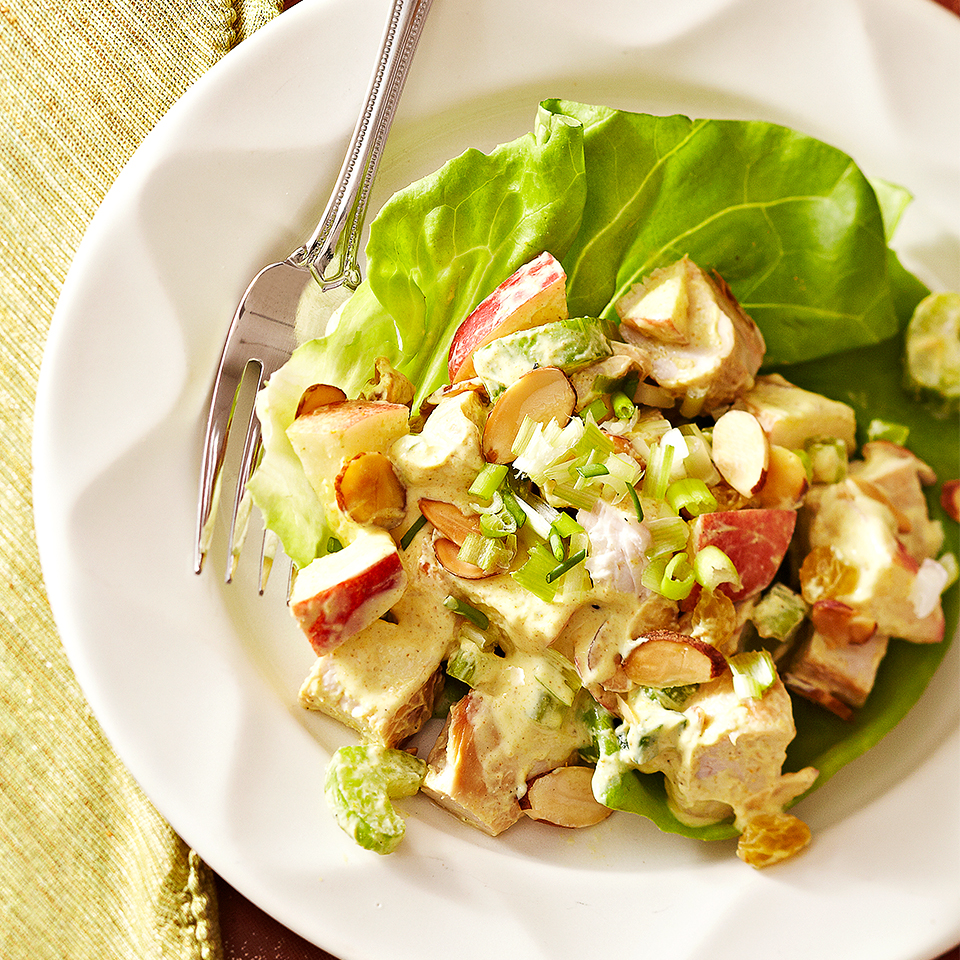 Curried Chicken Salad with Fruit