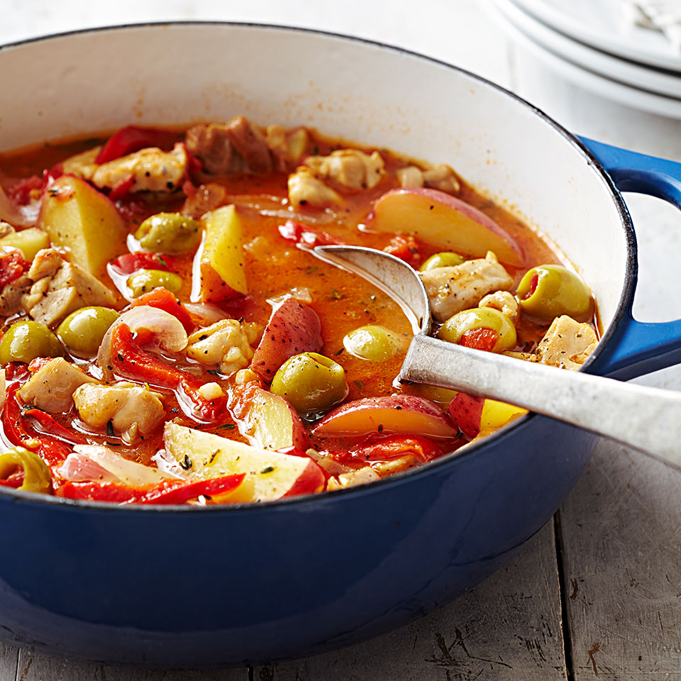 Basque Chicken Stew