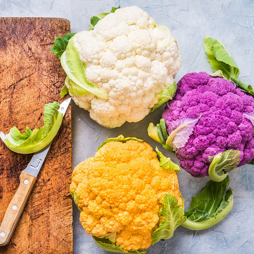multicolor cauliflower
