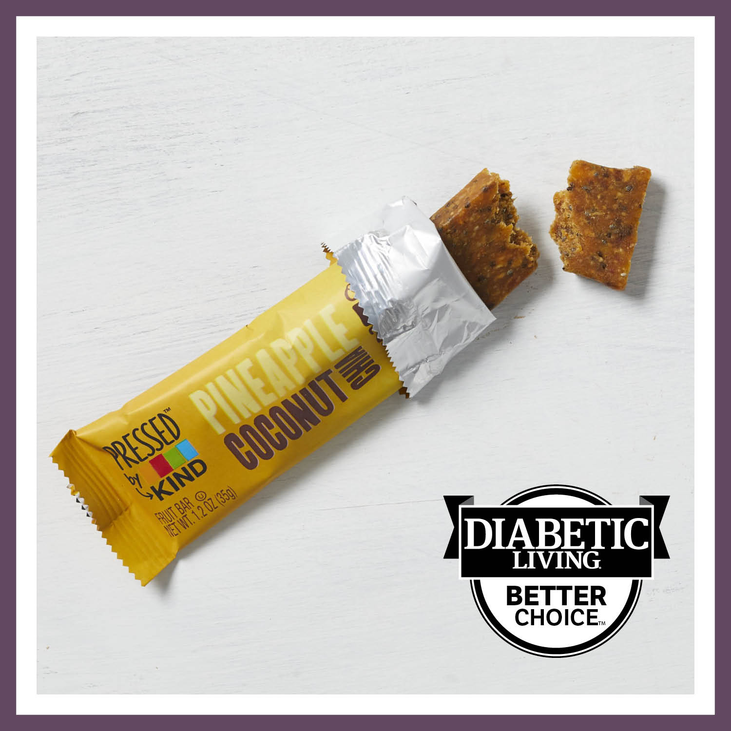 Best Fruit Bar: Kind Pressed Pineapple Coconut Chia