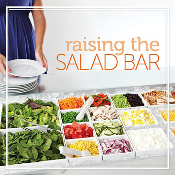 Size Up Salad Bar Serving Spoons