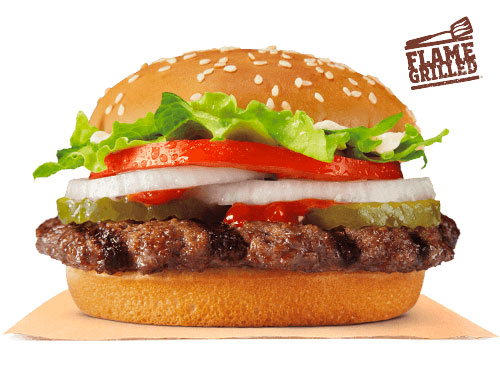 Burger King Whopper Junior