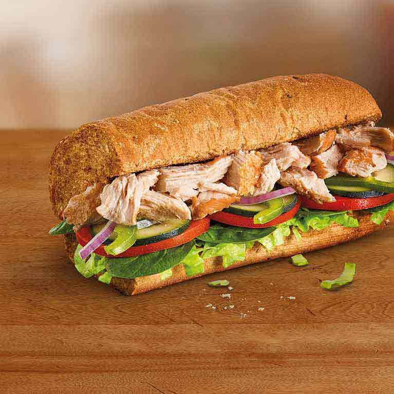 Rotisserie Chicken Sandwich Subway