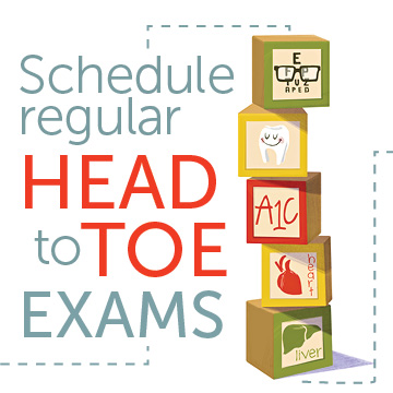 Schedule Regular Exams