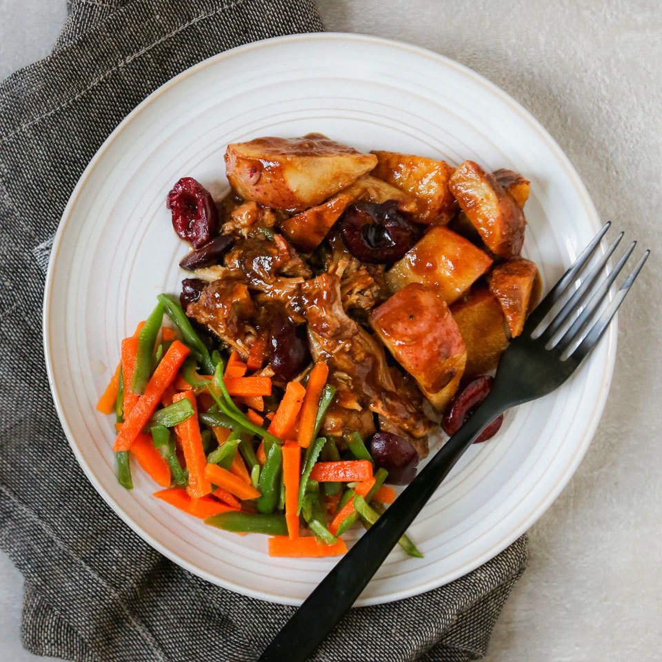 eatingwell cherry port pork