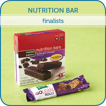 Nutrition Bar Finalists