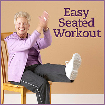 Seated Flexibility Cardio Strength Workout Eatingwell
