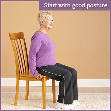 Start with Proper Posture