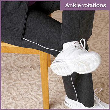 Flexibility Exercise: Ankle Rotations