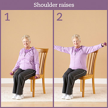 Strength Exercise: Shoulder Raises