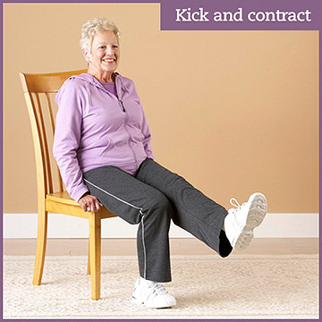Strength Exercise: Kick and Contract
