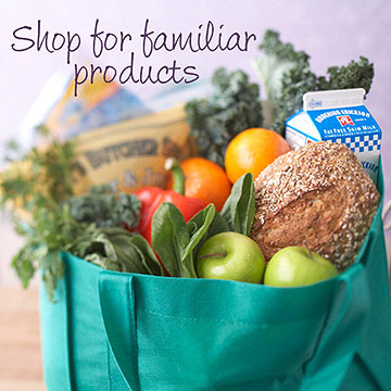 Shop for Familiar Products