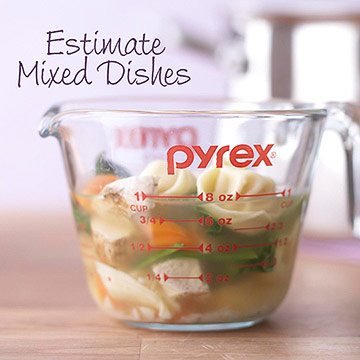 Estimate Mixed Dishes