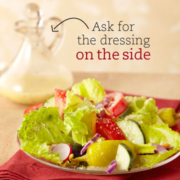 Slim Down a Garden Salad