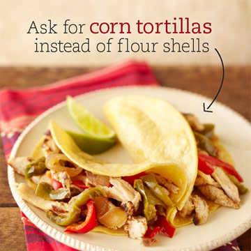 Slim Down Fajitas