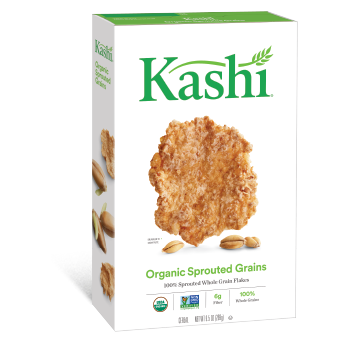 Kashi Organic Sprouted Grains box of cereal