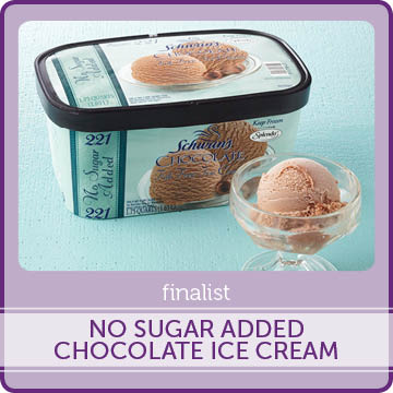 No Sugar Added Chocolate Ice Cream Finalist