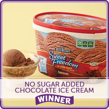 No Sugar Added Chocolate Ice Cream Winner