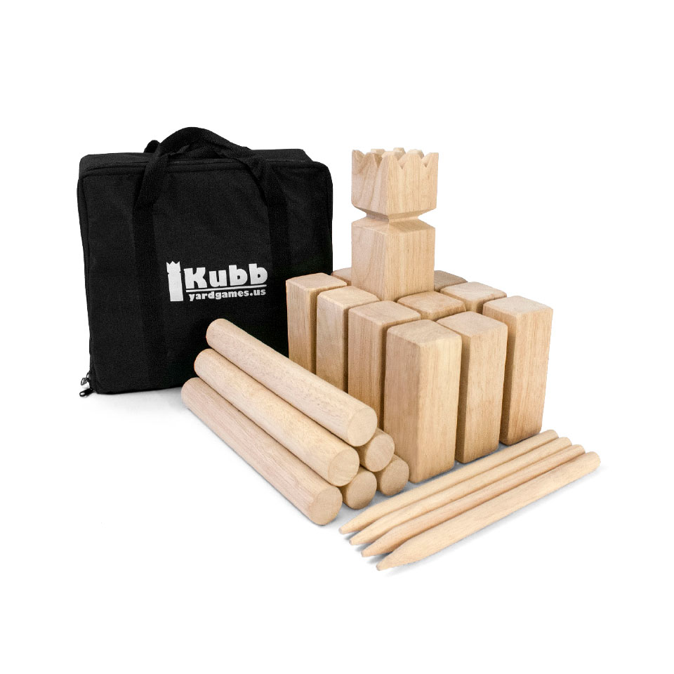 Kubb Yard Game