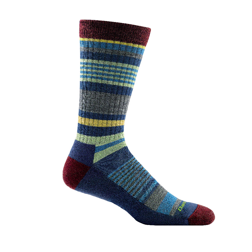 Darn Tough Unstandard Stripe Crew Socks
