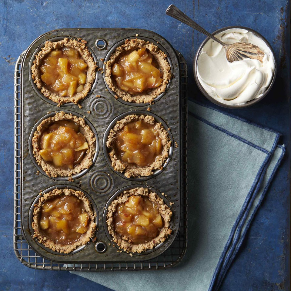 No-Sugar-Added Mini Apple Pies