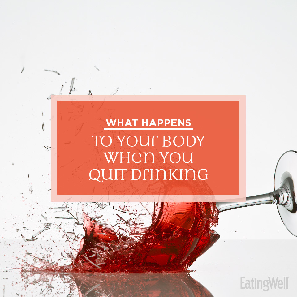 what happens to your body when you quit drinking