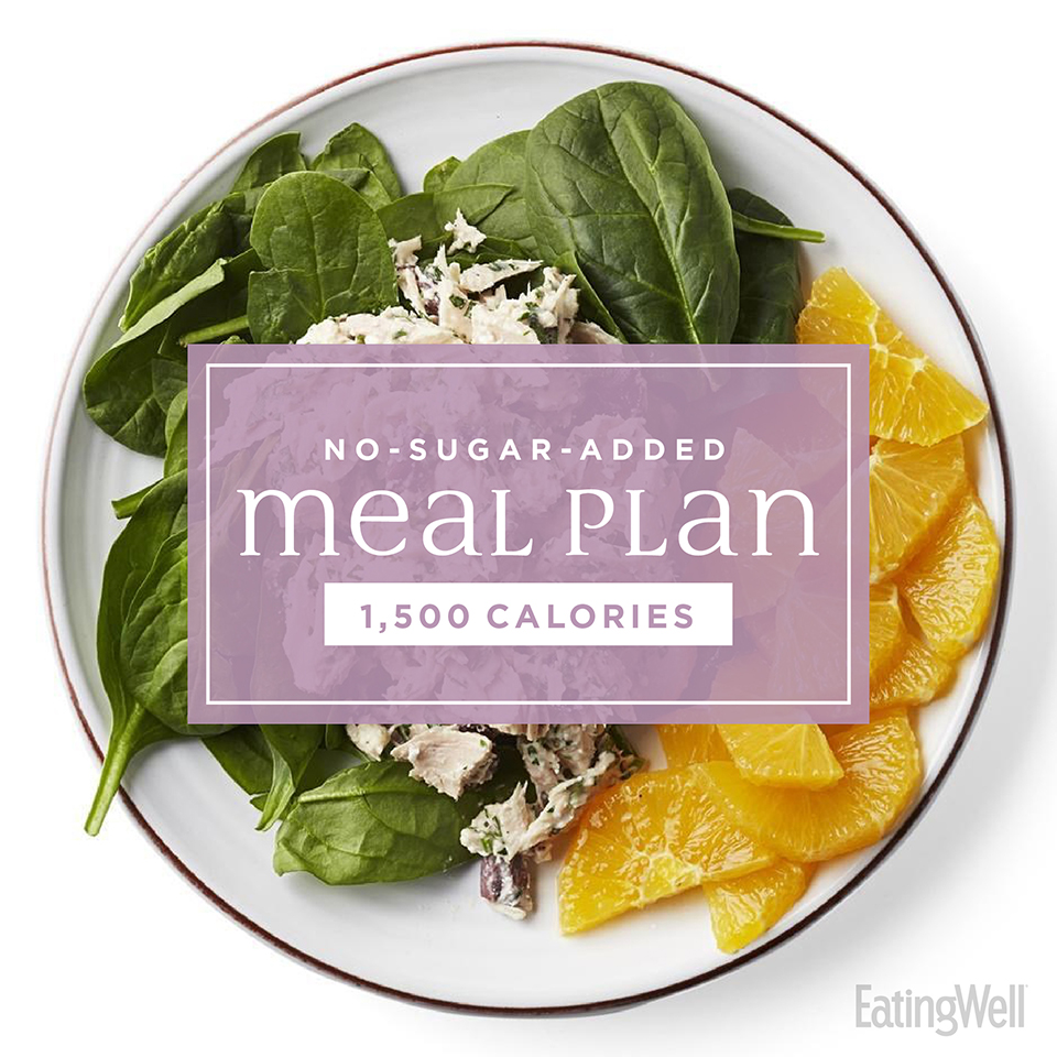 No-Sugar-Added Meal Plan