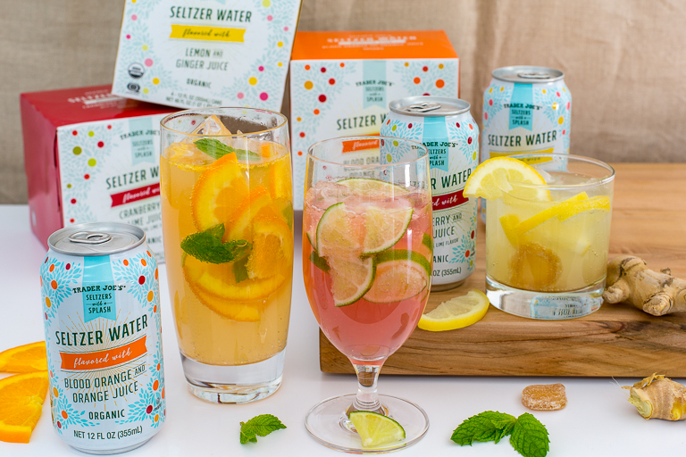 Trader Joes Seltzers With A Splash