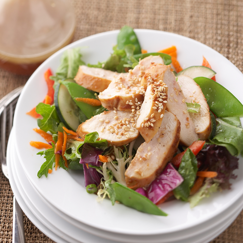 Asian-Inspired Chicken Salad