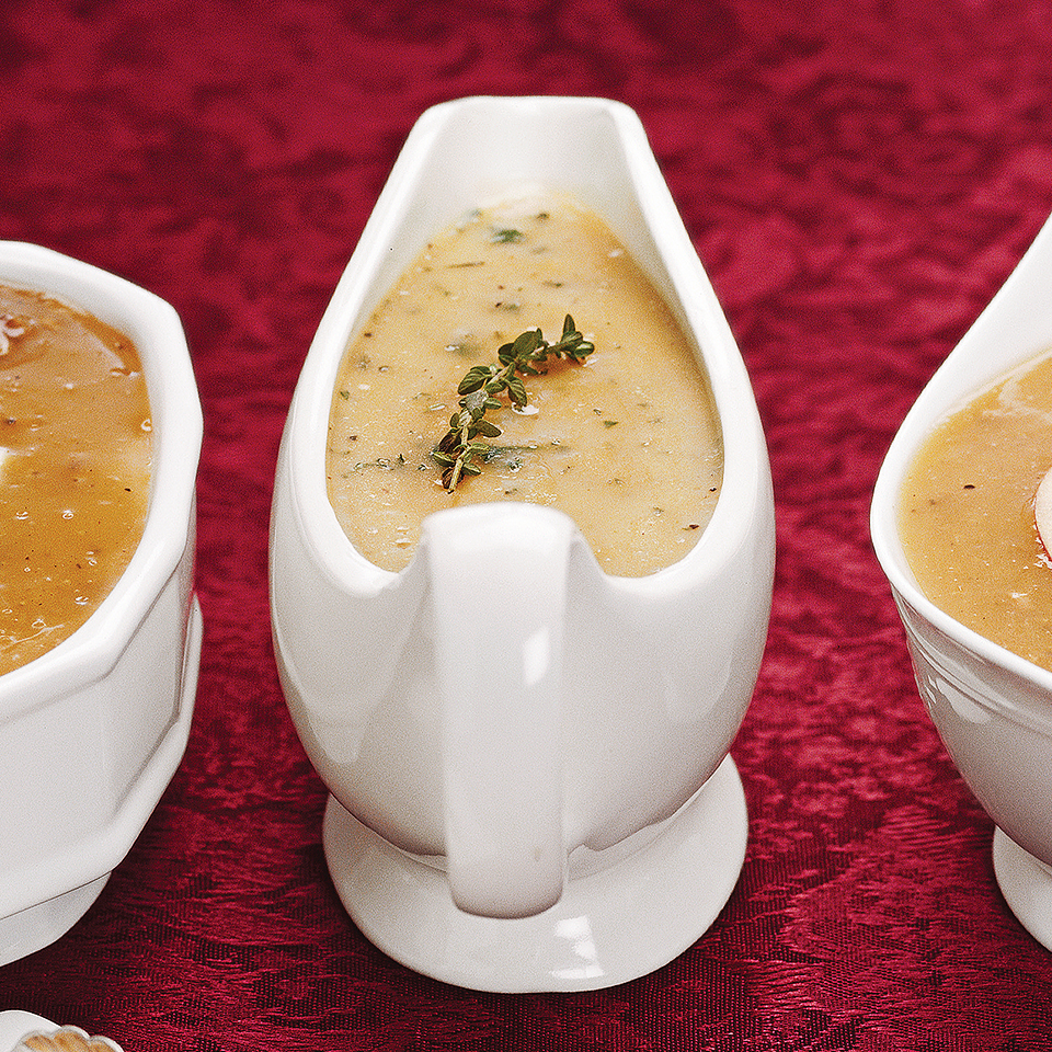 Herbed Turkey Gravy