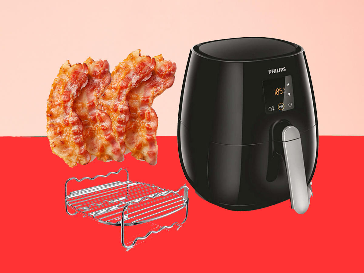 bacon with air fryer