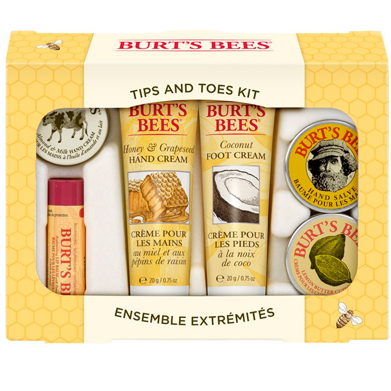 Burt's Bees Tips and Toes Kit Holiday Gift Set