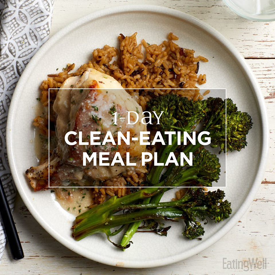 1-Day Clean-Eating Meal Plan