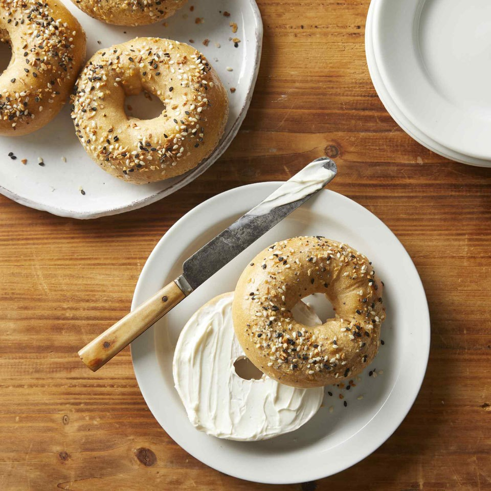Two Ingredient-Dough Bagels