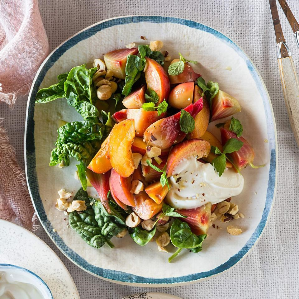 Peach & Roasted Beet Salad