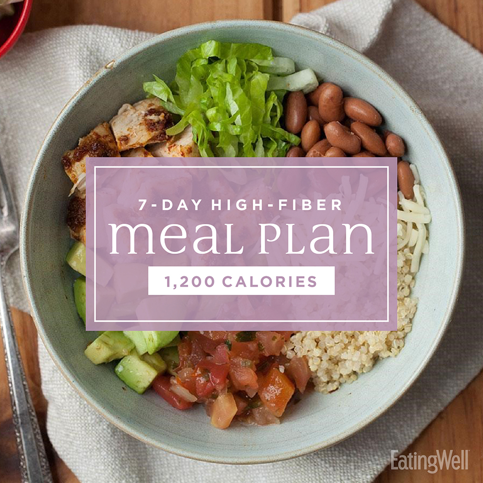 7 day high fiber meal plan