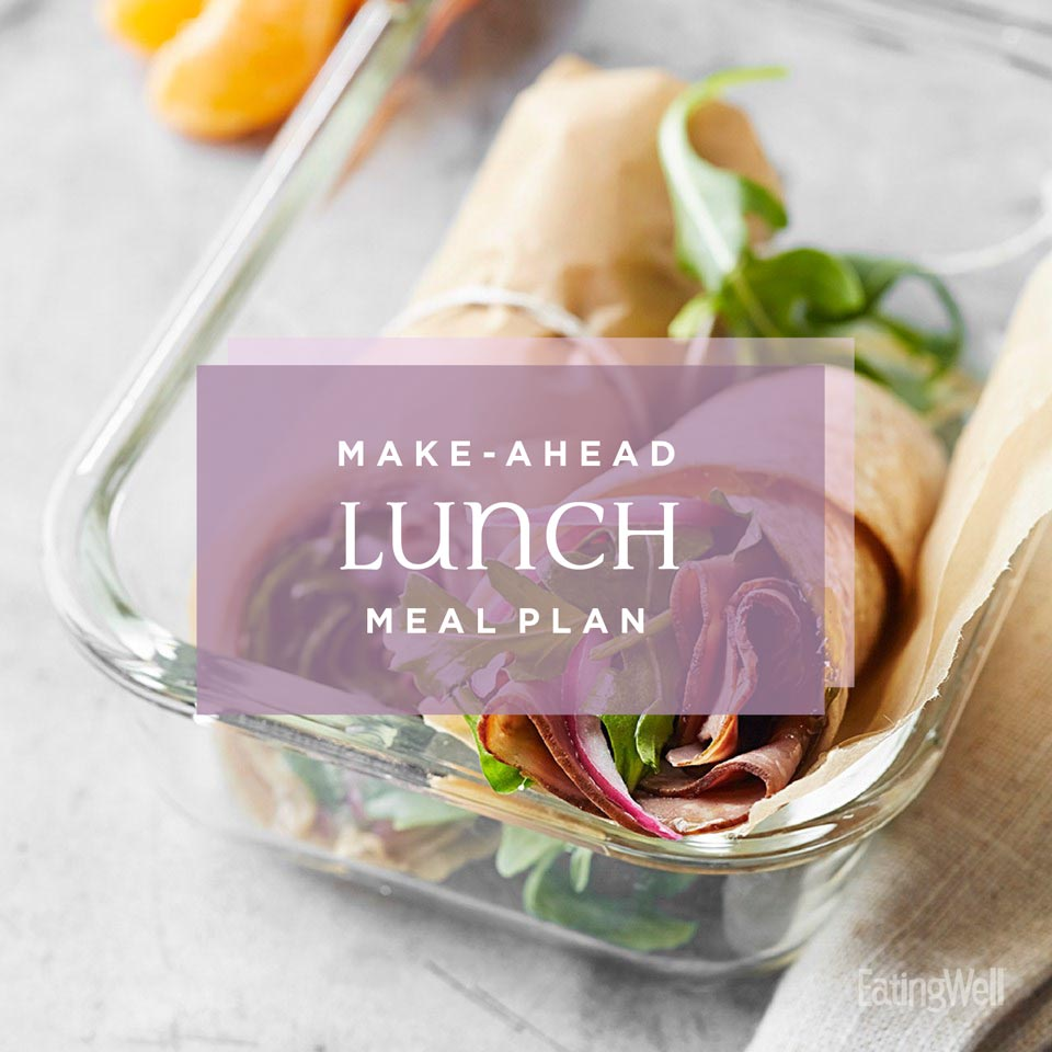 Healthy Make-Ahead Lunch Meal Plan for the Work Week
