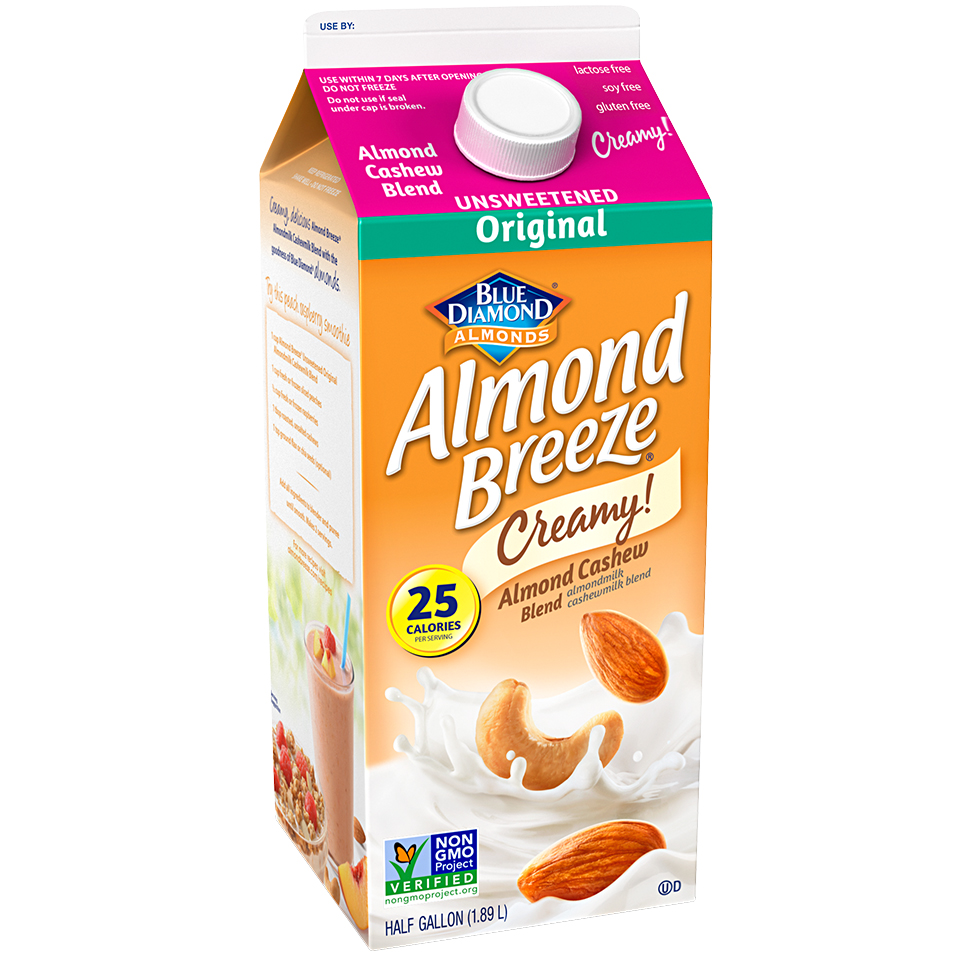 Almond Breeze Almond Cashew Unsweetened Original