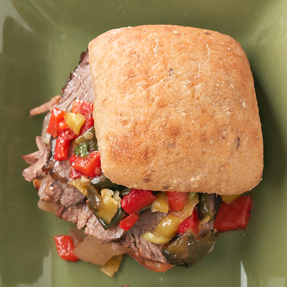 Dressed-Up French Dip Sandwiches