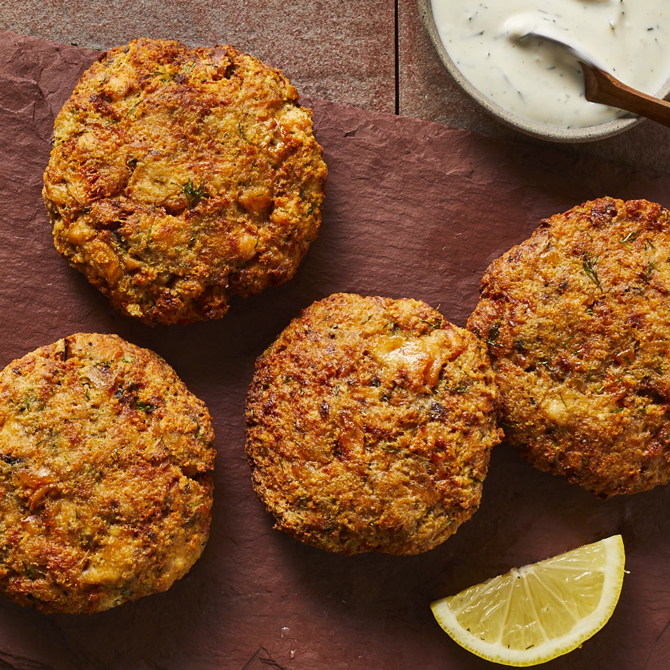 Air-Fryer Salmon Cakes