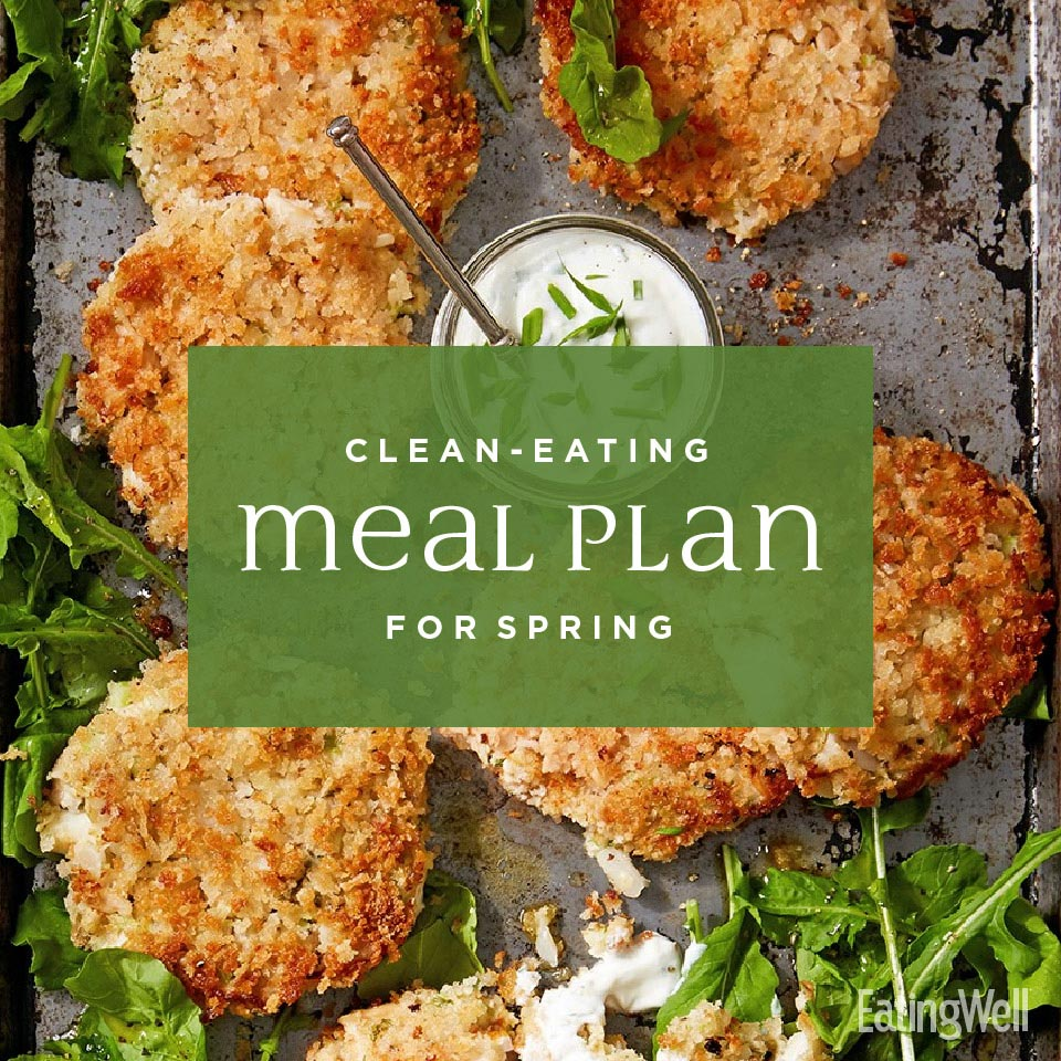 Clean-Eating Meal Plan for Spring