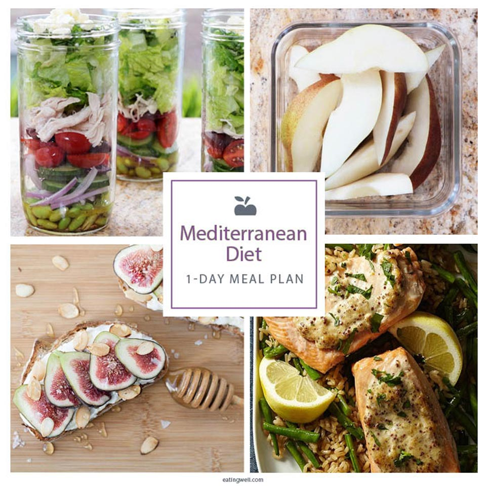 1-Day Mediterranean Diet Meal Plan