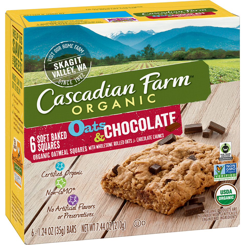 organic oats chocolate bars