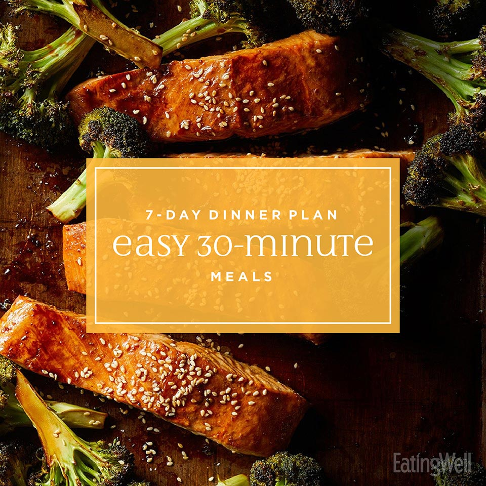 7 Days of Easy 30-Minute Meals