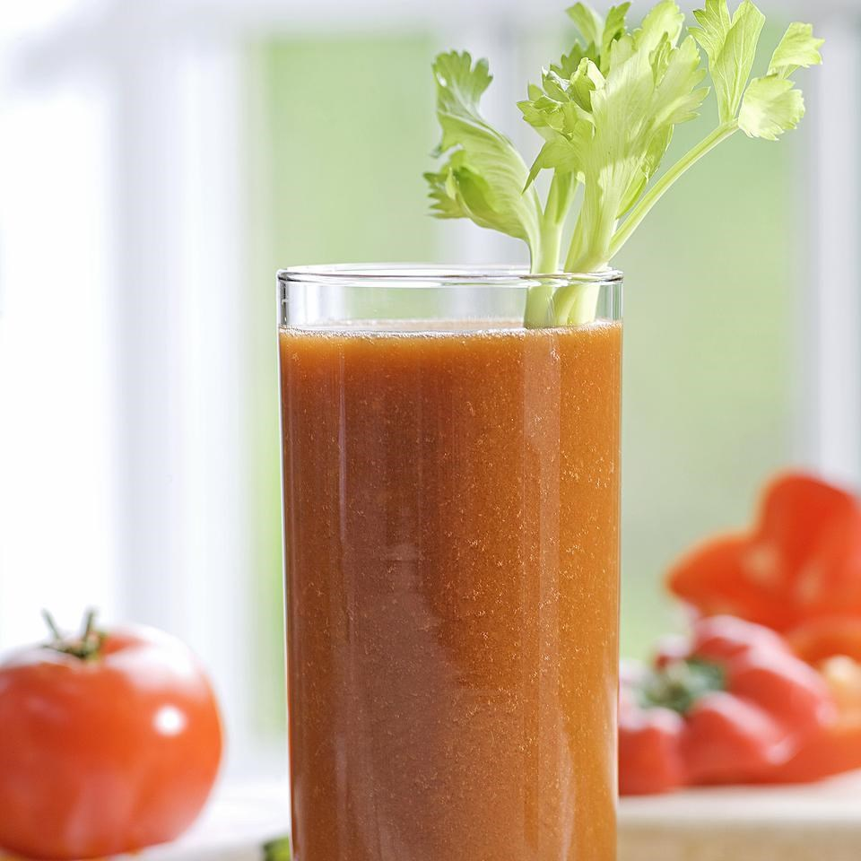 Day 2: Tomato-Vegetable Juice