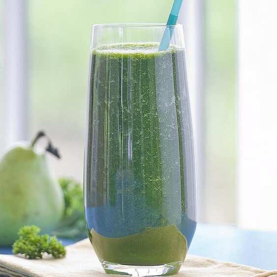 Day 5: Spinach-Apple Juice