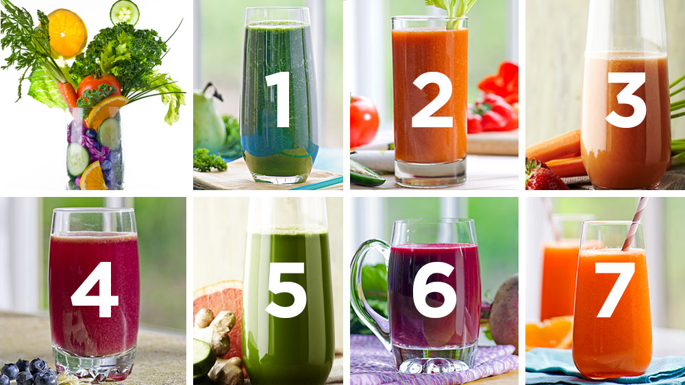 7-day juice plan