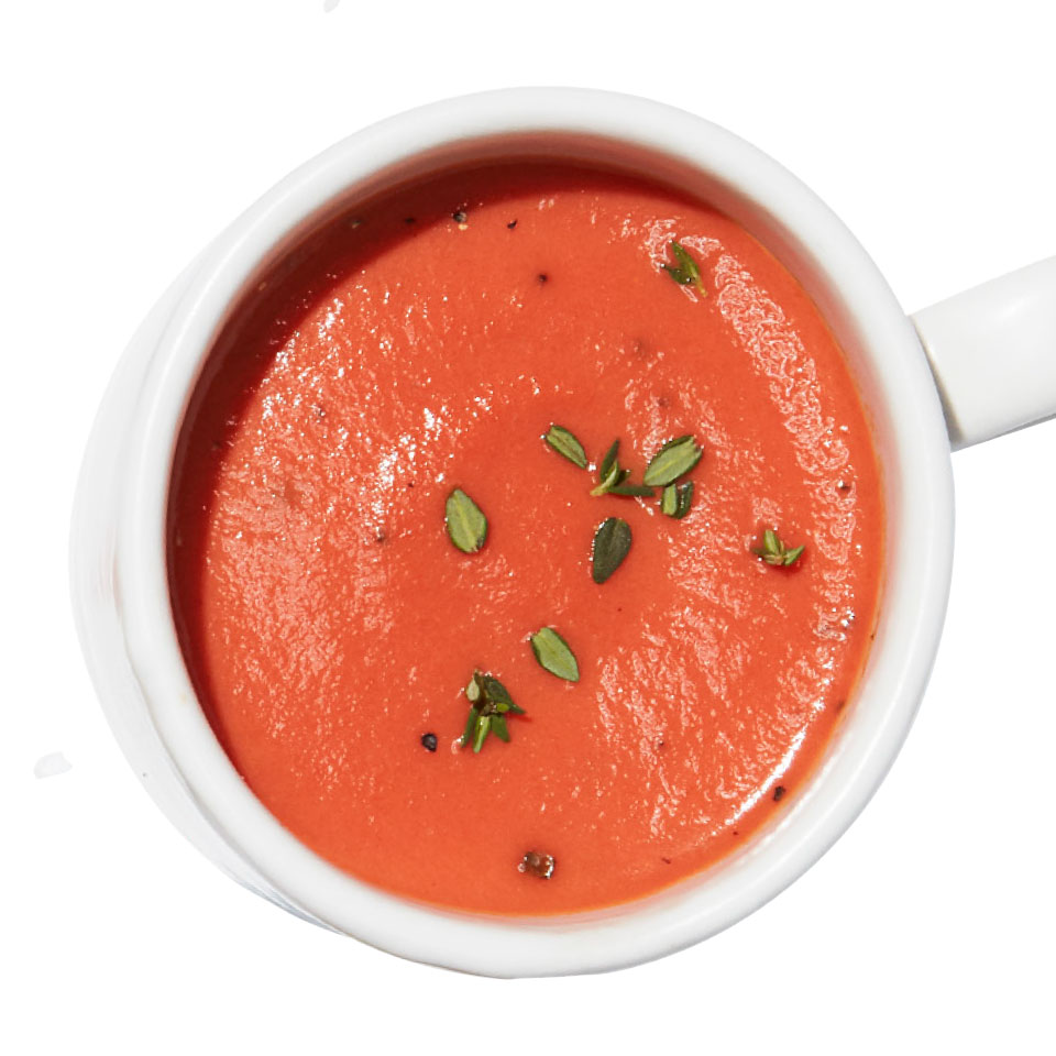 Quick Creamy Tomato Cup-of-Soup